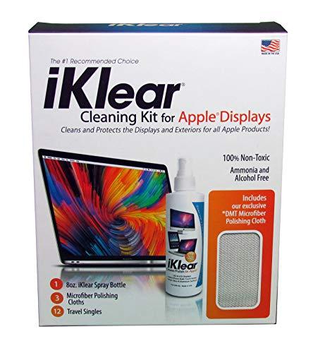 Klear Screen iK-5MCK PC Tableta Líquido y paños secos/húmedos para limpieza de equipos...