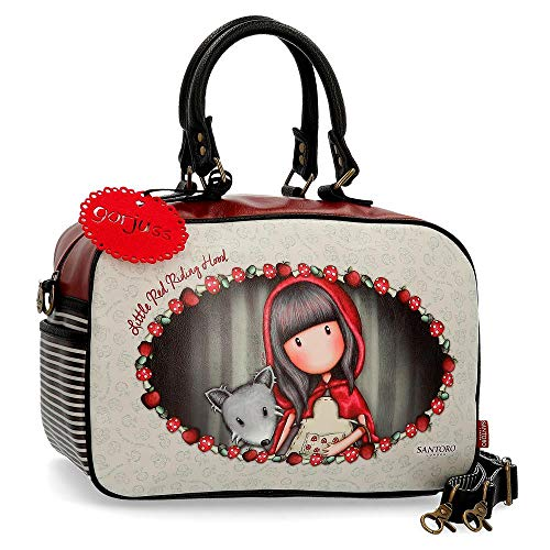 Bolso de viaje pequeño Gorjuss Little Red Riding Hood, Multicolor, 37 cm