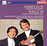 Sibelius - Violin Concerto / Bruch - Violin Concerto 1 by Boris Belkin (1995-06-20)