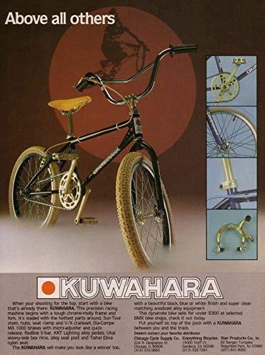 Yohoba BMX Et Kuwahara Ad Reprint Metal Retro Sign Vintage Sign Tin 8''x12''