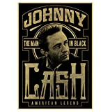 Diamond Painting 5D DIY Cross Stitch Kits for Adults 40X50cm Country Music Singer Johnny Cash Posters Wall Decor