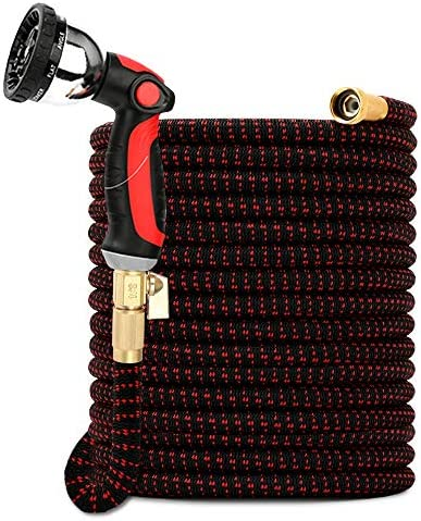 Solution4Patio Expandable Garden Hose 150 FT Flexible Durable Lightweight No Leaking No Kink product image