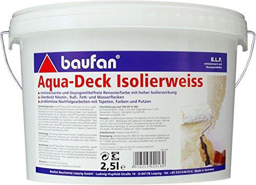 Baufan Aqua-Deck Isolierweiss 2,5 l