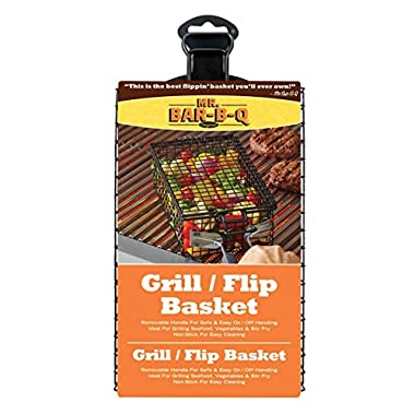 Mr.BarBQ 06762Y Non-Stick Grilling Basket