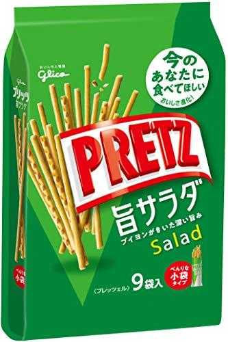 江崎グリコ プリッツ旨サラダ(9袋) 143g ×6個