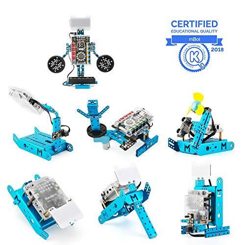Makeblock mBot & mBot Ranger Pacchetto Aggiuntivo, Il Pacchetto Aggiuntivo Perception Gizmos, Robotica 7-in-1 Pacchetto Aggiuntivo, 7 Forme