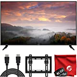 VIZIO V-Series 43-Inch 2160p 4K LED HDR Smart TV (V435-H11) HDMI, USB, Dolby Vision HDR, Voice Control Bundle with Circuit City 6-Foot HDMI Cable, Wall Mount, Microfiber Cloth and 2X Cable Ties