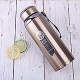 XTBB Taza De Café De Viaje Termo De Negocios Vaso De Acero Inoxidable Botella De Agua Aislada Frasco De Vacío Portátil para Oficina Taza De Viaje De Té 600Ml 1