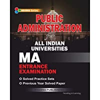 Public Administration For All Indian Universities MA Entrance Examination