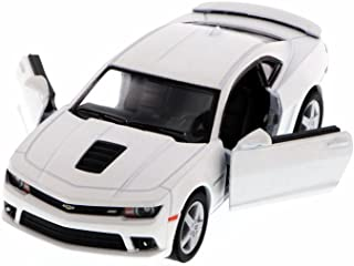 Kinsmart 2014 Chevrolet Camaro, White 5383D - 1/38 Scale Diecast Model Toy Car, but NO BOX