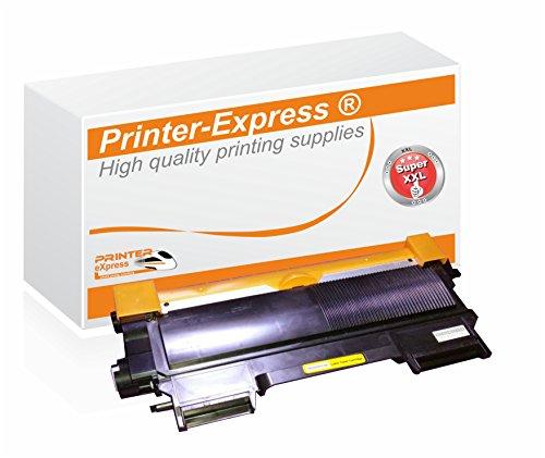 Printer-Express XXL Toner 5.400 Seiten ersetzt Brother TN-2220 TN2220 TN-2010 TN2010 für DCP-7055 DCP-7057 DCP-7060 DCP-7070 HL-2130 HL-2132 HL-2135 HL-2240 HL-2250 HL-2270 MFC-7360 MFC-7460 MFC-7860