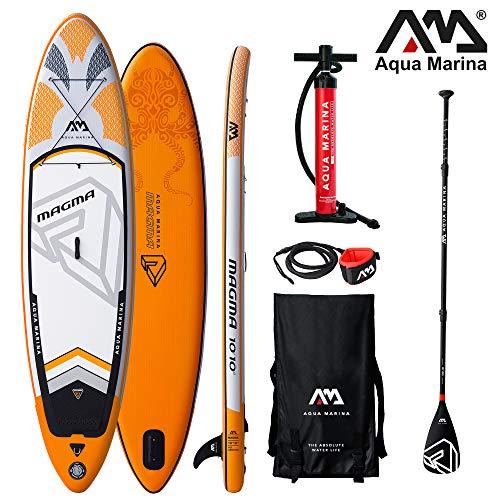 Aqua Marina Magma aufblasbares SUP Modell 2019 - ISUP, Stand Up Paddelboard...