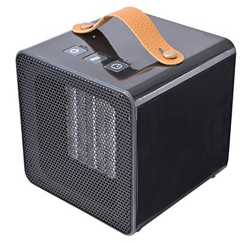 Calefactor Eléctrico Ahorro de Energía de Alta Tecnología Utilizado for Control Termostático de Dormitorio/Sala de Estar/Oficina, Protección contra Sobrecalentamiento Oscilación Automática Adlerey