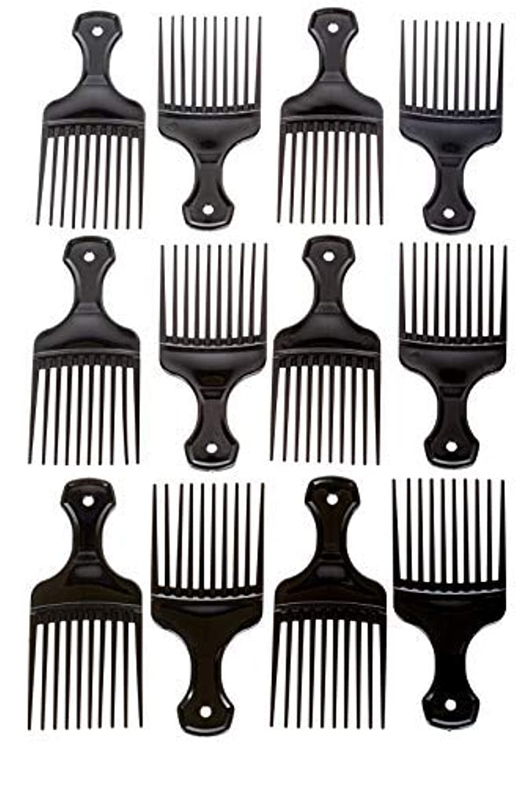 ナース用心メアリアンジョーンズAfro Hair Pics (Bulk 100pk) 5.25
