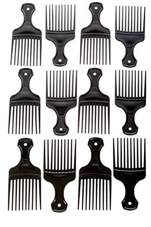 サロンまあ着実にAfro Hair Pics (Bulk 100pk) 5.25