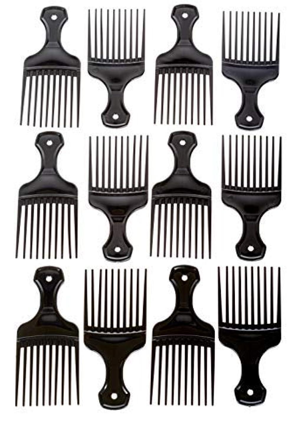 ワイプマッサージ朝ごはんAfro Hair Pics (Bulk 100pk) 5.25
