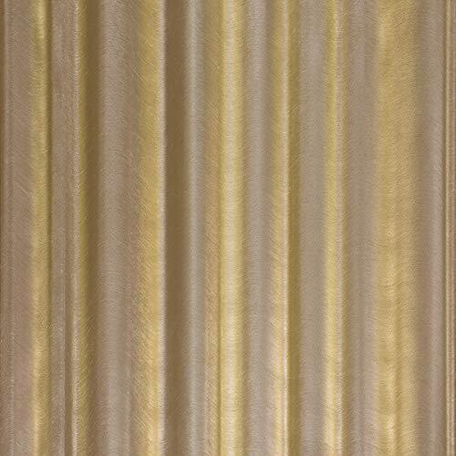 Tapete Braun, Gold Streifen, Linien - Klassisch - Kollektion Glööckler Imperial von marburg - für Schlafzimmer, Wohnzimmer oder Küche - Made in Germany - 10,05m X 0,70m - 52526