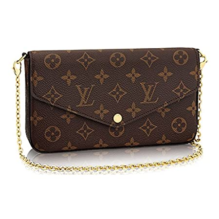 Fashion Shopping Louis Vuitton Monogram Canvas Pochette Felicie Wallets Handbag Clutch Article:M61276