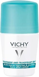 Vichy Desodorante Antitranspirante 48 H, Anti Manchas Amarillas y Blancas, Anti Efecto Carton, 50 ml