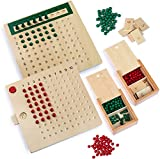 Multiplication and Division Board,wooden math learning board toy,Early Learning Toy (2PCS)