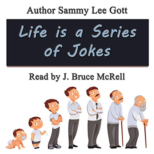 Life Is a Series of Jokes audiobook cover art