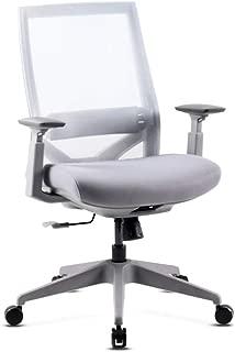 63x32x65 Mc Haus Adonis Silla Ergon/ómica Oficina Despacho Color Blanco PVC