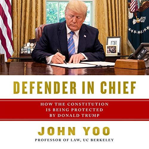 Defender in Chief audiobook cover art