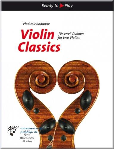 Violin Classics für zwei Violinen - Violine Noten [Musiknoten]