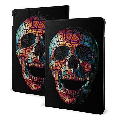 NA Protezione iPad 2019 iPad Air3   2017 iPad PRO Custodia da 10,5 Pollici   2019 iPad Custodia da 7,2 da 10,2 Pollici Brigh Ethnic Gothic Sugar Skull Cute iPad Cover Auto Wake Sleep
