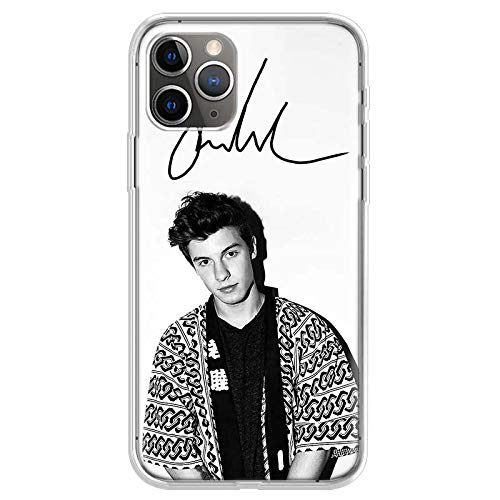 KOUHANGYU Shawn Mendes iPhone Case Soft Clear Silicone TPU Handyhülle für iPhone 7,iPhone 8 (Not für Plus) Hülle SU072-4
