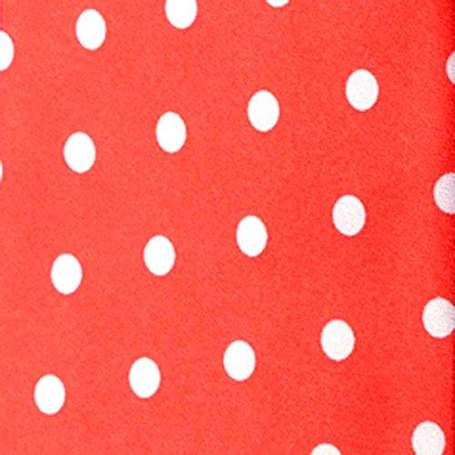Pochette rouge à pois blancs homme dandy cravate mouchoir costume