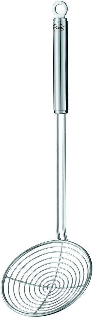 trend rank Rosle 12 cm Deluxe Stainless Steel Wire Handle Skimmer Round