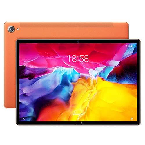 tablet PC Portátil IPS HD de 11 Pulgadas Android 10.0 Velocidad de Reloj de 2.4GHz Procesador Deca-Core 8G RAM + 128G ROM 5MP + 8MP Reconocimiento Facial de Doble Banda WiFi Bluetooth 5.0 6000 mA