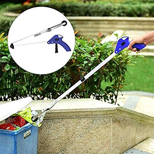 CAVIVI Pince à ordures Pliante Corbeille Picker Long Bras Pince ramasser Atteindre Outil pour intérieur extérieur Utilisation Pliable