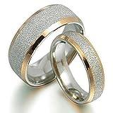 GEMINI -2 Edle Hochzeitsringe Trauringe Eheringe Verlobungsringe inkl. Gravur Größe 47 - 77