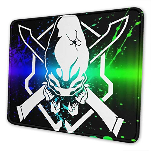 Halo Legendary Fashion Gaming Mouse Pad,Customized Mouse Mat,Non-Slip Rubber Base Mousepad for Laptop,Computer & Pc 10 X 12 Inch