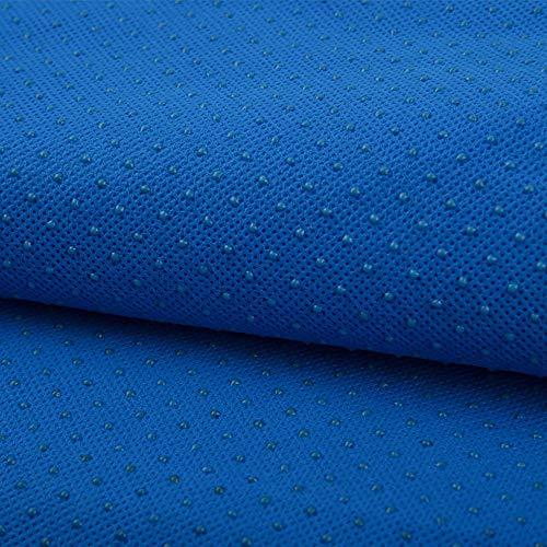 Wuke Tree Non-Woven Weefsel, Polyester Gekleurde Stof voor Vloermatten/Slip Matten/Stoelkussens/Kunst/vlotten, Ademend en Comfortabel 1m Blauw