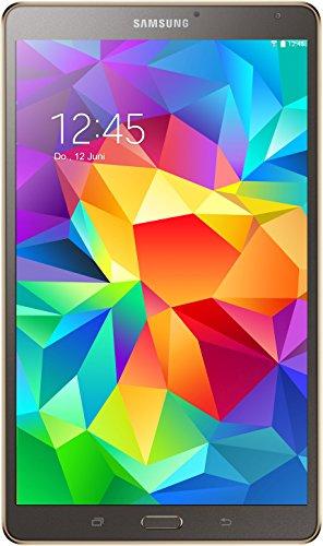 Samsung Galaxy Tab S 21,34 cm (8,4 Zoll) WiFi Tablet- PC (Quad-Core, 1,9GHz, 3GB RAM, 16GB interner Speicher, Android) titanium/bronze