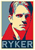 Instabuy Posters Altered Carbon Propaganda Ryker - A3 (42x30 cm)
