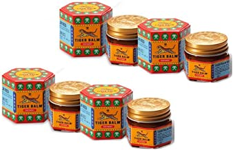 Tiger Balm Red Ointment - 9ml - Pack of 4