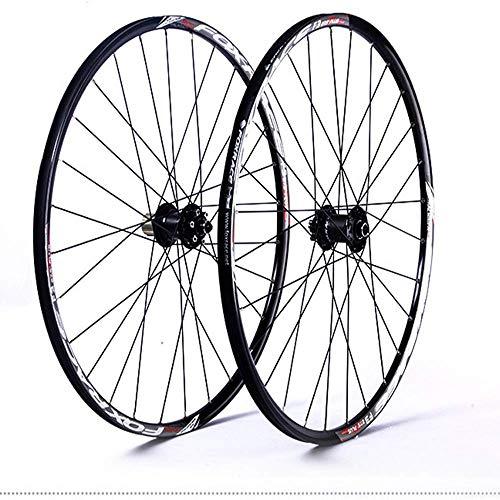 Juego de ruedas de bicicleta de montaña, 26/27.5 In Rueda de bicicleta...