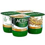 Activia Fibras Cereales 0% 4x120 g