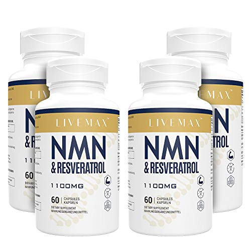 NMN+Resveratrol 240 Capsules, Powerful Antioxidant Supplement for Heart Health & Anti-Aging, Enhanced with Black Pepper Extract for Higher Absorption