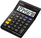 Casio MS-80VERII BK - Calculadora de sobremesa, 28.8 x 103 x 147 mm, color negro
