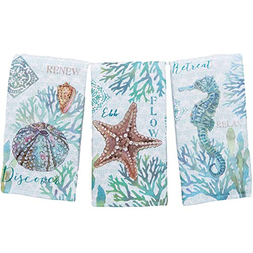 Top 10 Best Selling List for coastal kitchen towels