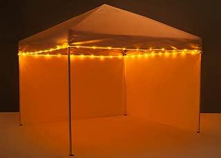 Brightz CanopyBrightz LED Tailgate Canopy and Patio Umbrella Accessory Lighting Kit (Lights Only), Orange
