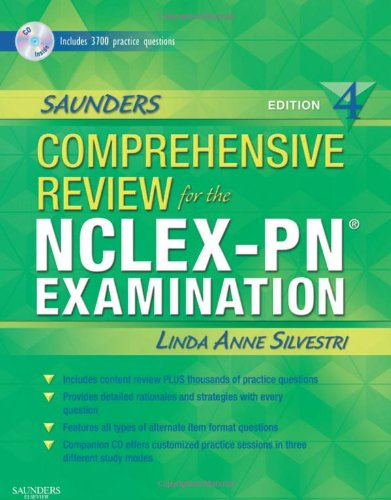 Saunders Comprehensive Review for the NCLEX-PN Examination (Saunders Comprehensive Review for Nclex-Pn)