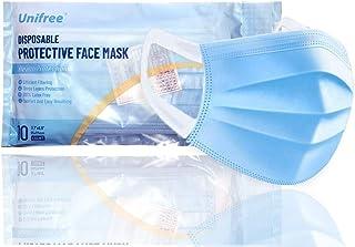Oakridge Medical Face Mask | Medical Grade | 10 Masks | CDC Approved | Disposable | Breathable | Extra wide Earloop design