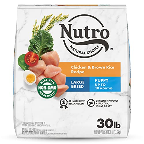 NUTRO NATURAL CHOICE Large Breed Puppy Dry Dog...