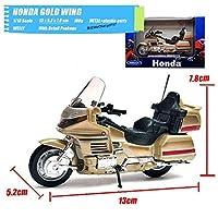 S-1640 Welly 1/18スケールクラシックバイクシリーズホンダゴールドウイングダイキャストメタルオートバイ